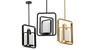Hanging lamp Rubi by Romatti 3D model