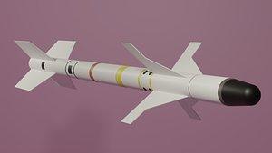 missile aim sidewinder 3D