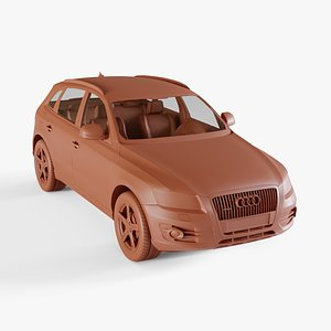 audi q5 2008 3D model