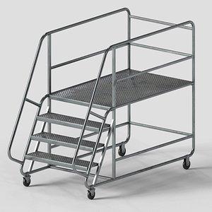 industrial stair model
