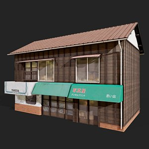 Kyoto Style House 3D model