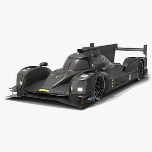 Dallara P217 WEC LMP2 Season 2020 3D model