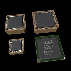 chip circuit ic 3D model
