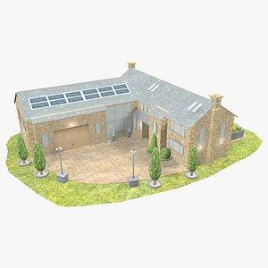 - modern house 3D model