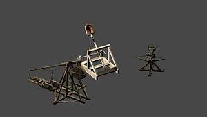 Medieval Seize Machines 3D model