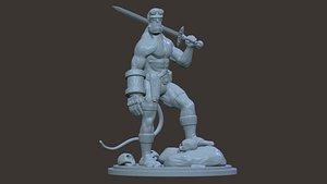 3D Hellboy 3d stl