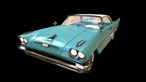 3D model 1957's DeSoto Fireflite