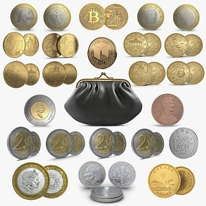 3D Coins Collection 2