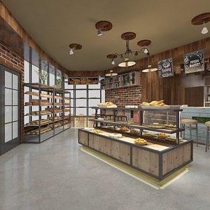 bakery shop 3D