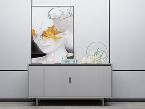 Modern Style Console - 050 3D