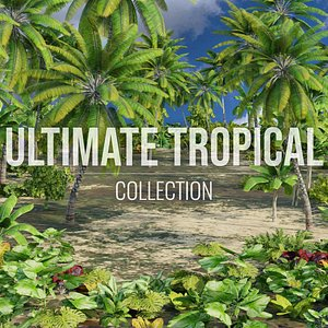 3D ultimate tropical trees