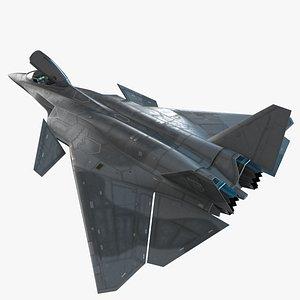 3D Next fighter AIRWOLF