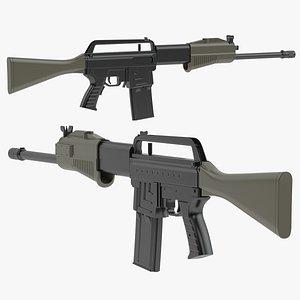 3D Franchi SPAS-15