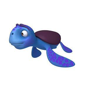 3D Turtle Cartoon
