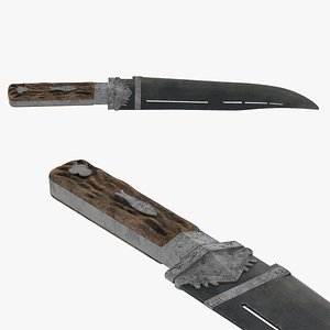 3D Malappuram Kathi Dagger