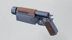 3D model K-16 Bryar pistol