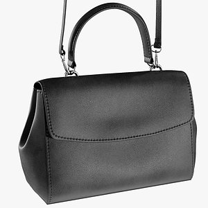 3D model realistic women s bag