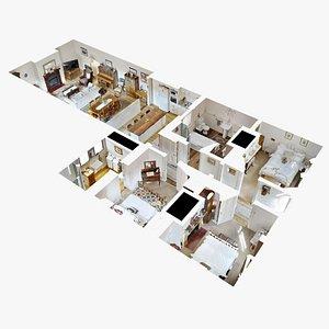 interior house 3D model