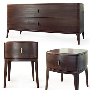 Dresser nightstand Indigo by Philipp Selva 3D