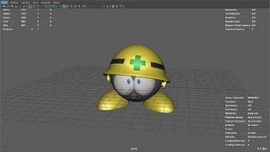 megaman met 3D model