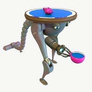 robot waiter model