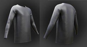 3D shirt sleeve