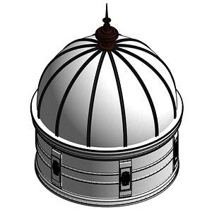 3D model dome classic