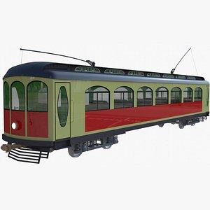 3D tram historical