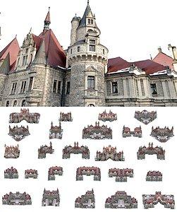 3D medieval city mega