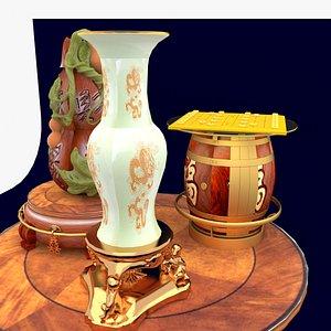 3D magic lamp model