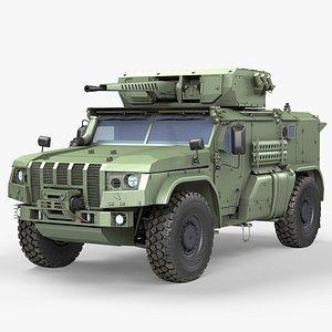 3D MRAP Typhoon K4386 model