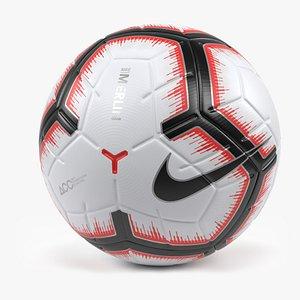nike merlin ball 3D