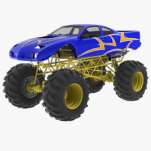 monster wheel car model