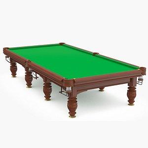 Billiard table v3 3D model