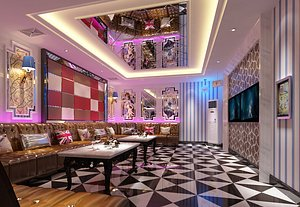 3D KTV bar room box big box entertainment club volume sales type