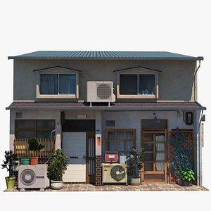fukuoka townhouse 3D model
