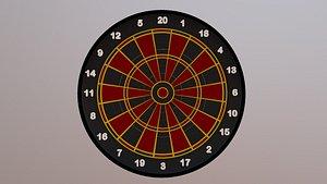 3D dart dartboard