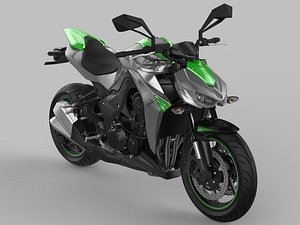 3D Kawasaki Z1000 Sugomi 2018