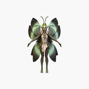 fairyv2 rigged model