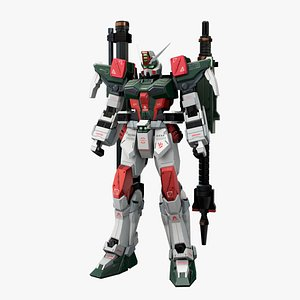 Buster Gundam model