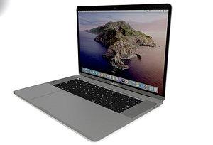 3D model apple macbook