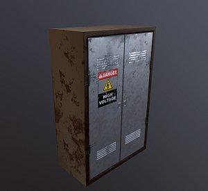 electrical box 3D