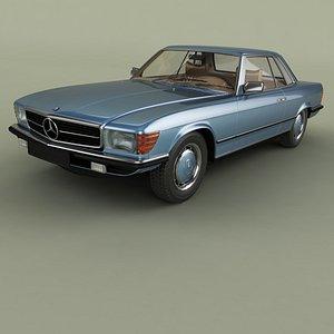Mercedes-Benz C107 350SLC 3D model