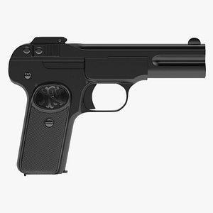 3D FN M1900 Pistol model