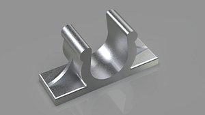 Holder Broom Clip print 3D