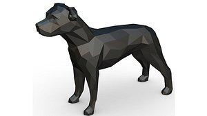 yorkshire terrier 3D model
