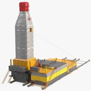 3D model Polar Drilling Rig