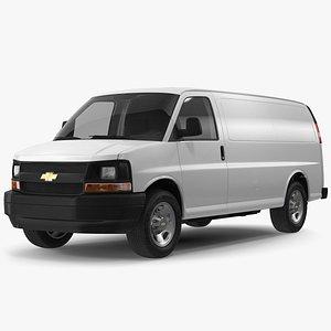 3D model Chevrolet Express Cargo Van