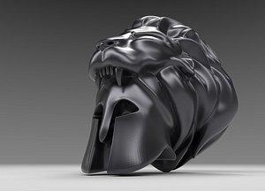 3D pendant hercules helmet model