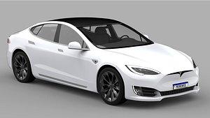 Tesla Model S 2020 3D model
